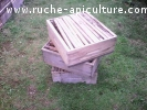 hausses de ruches avec cadres occasion