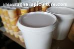 Seaux miel de Tournesol Récolte 2020